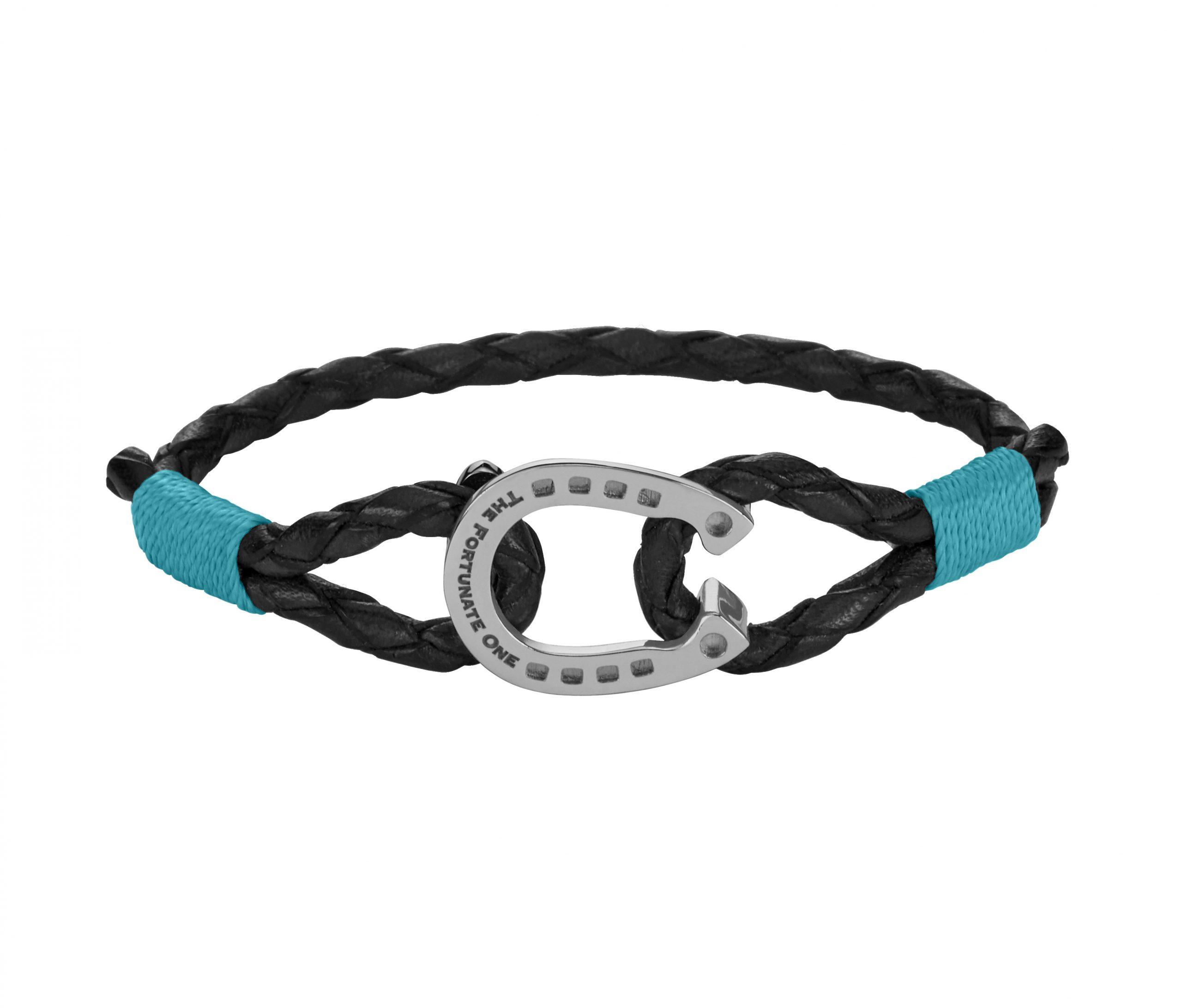 Horseshoe-Friesian-Jewellery-Aqua-Steel-front