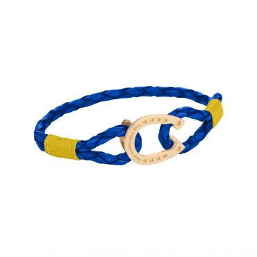 Horseshoe-Jewellery-Gold Yellow Tinker-The-Fortunate-One-Front
