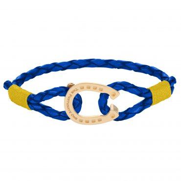 Horseshoe-Jewellery-Gold Yellow Tinker-The-Fortunate-One-Side