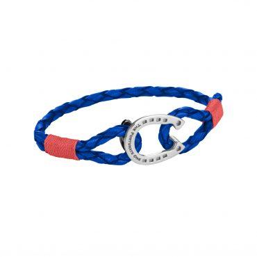 Horseshoe-Jewellery-Steel Ruby Red Tinker-The-Fortunate-One-Side