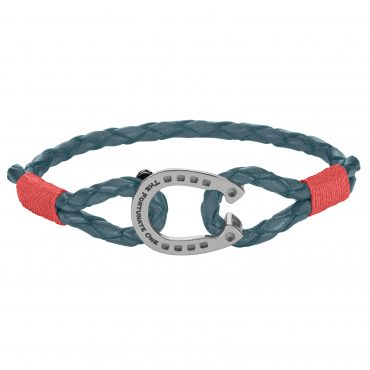 Horseshoe-Steel Cherry Andalusian-jewellery-front