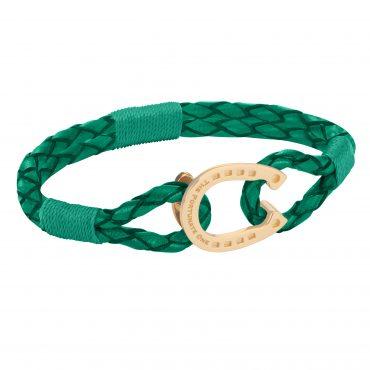 Horseshoe-jewellery-bracelet-The Golden Shamrock Colt
