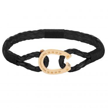 The-Golden-Black-Friesian_horseshoe-jewellery_front