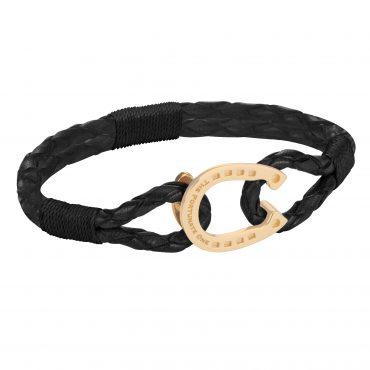 The-Golden-Black-Friesian_horseshoe-jewellery_side