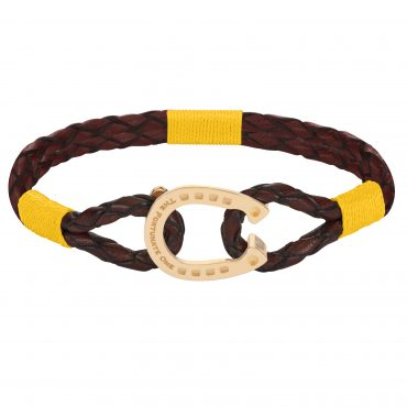 The Golden Yellow Bright Clydesdale_horseshoe_jewellery